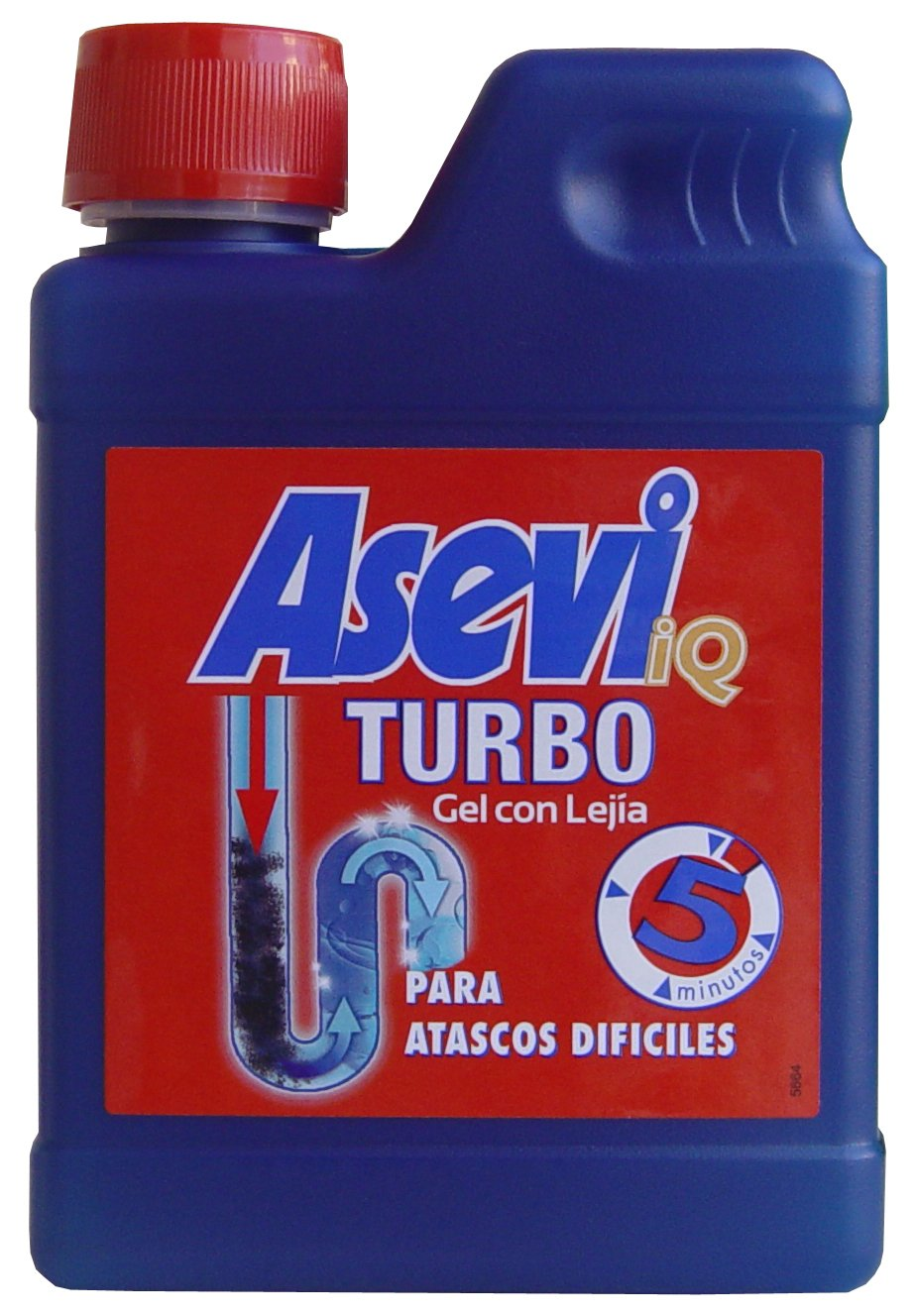 Desatascador Asevi Turbo 450 ml: Amazon.es: Industria, empresas y ciencia