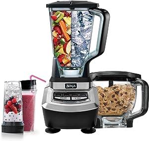 Ninja Supra Kitchen Blender System with Food Processor and Single Serve Cups - BL780 (Certified Refurbished)