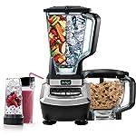 Ninja Supra - Sistema de batidora de cocina con procesador de alimentos y vasos de una sola serve- BL780