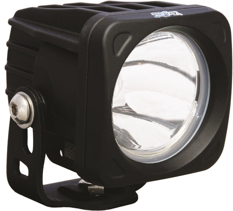 Vision X Lighting 9123882 Optimus Black Square 10W Narrow LED Spot Light
