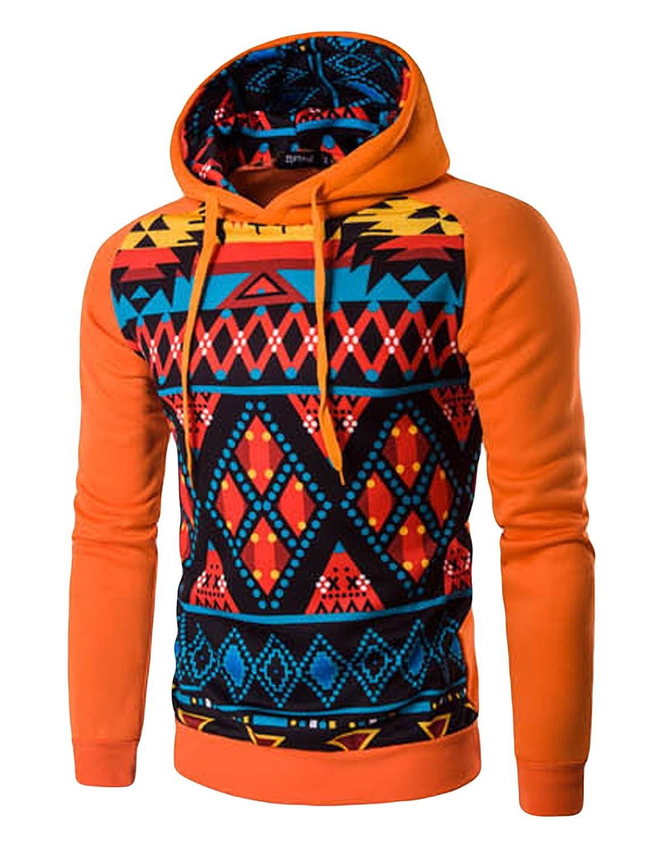 Letuwj Mens Sweatshirt Warm Pullover Patterns