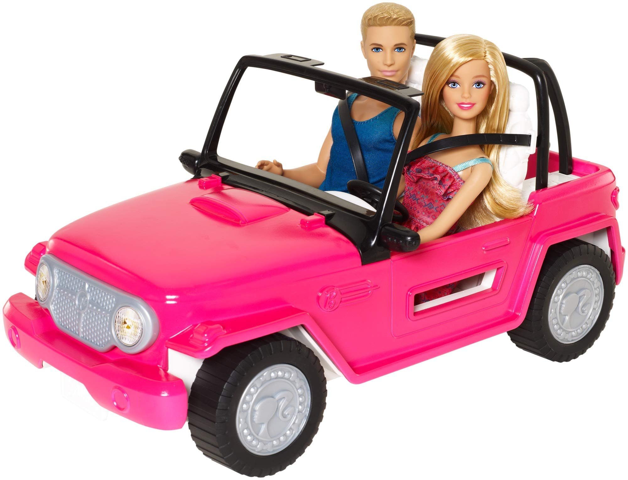 Barbie Beach Cruiser Barbie Doll and Ken Doll [Amazon Exclusive]
