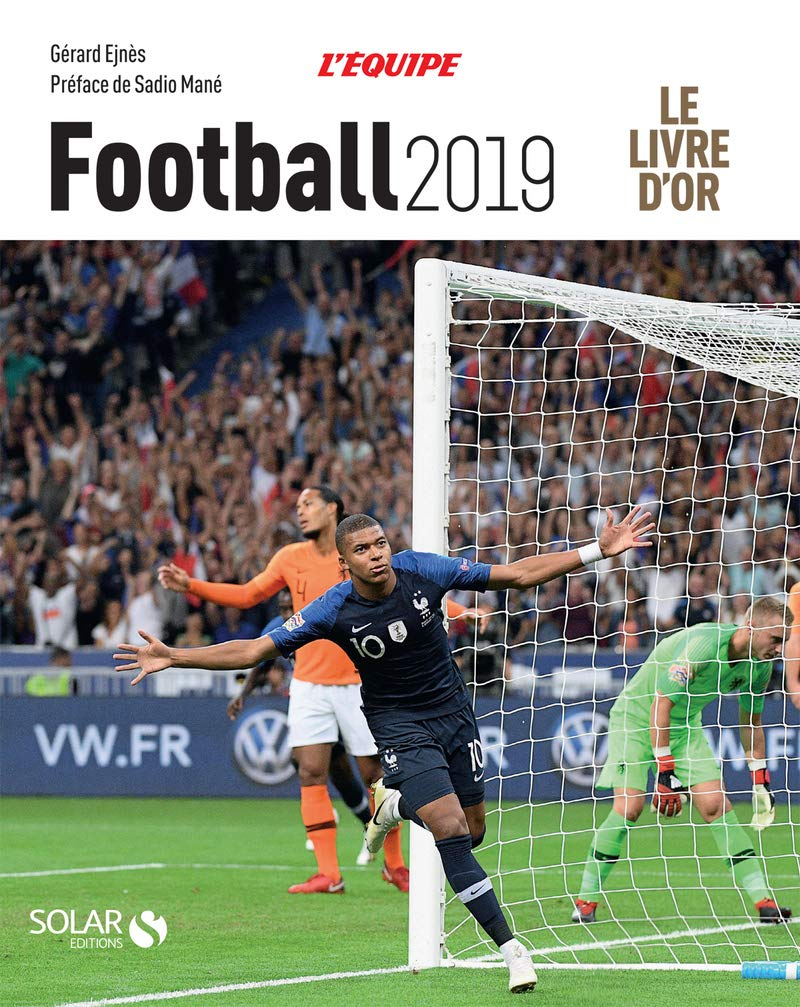 Amazon Fr Livre D Or Du Football 2019 Gerard Ejnes Livres