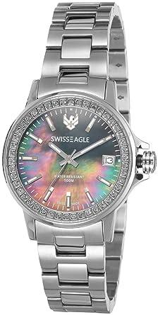 Swiss Eagle Analog Multi-Colour Dial Women's Watch-SE-6064-11