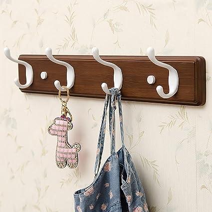 CHAOYANG Coat rack Wall hangers Bedroom coat hook Wall-mounted coat hook Creative coat rack & Amazon.com: CHAOYANG Coat rack Wall hangers Bedroom coat hook Wall ...