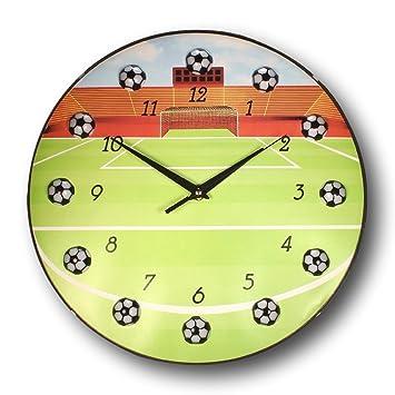 Amazoncom bogo Brands Soccer Ball Wall Clock 13 Inch Home