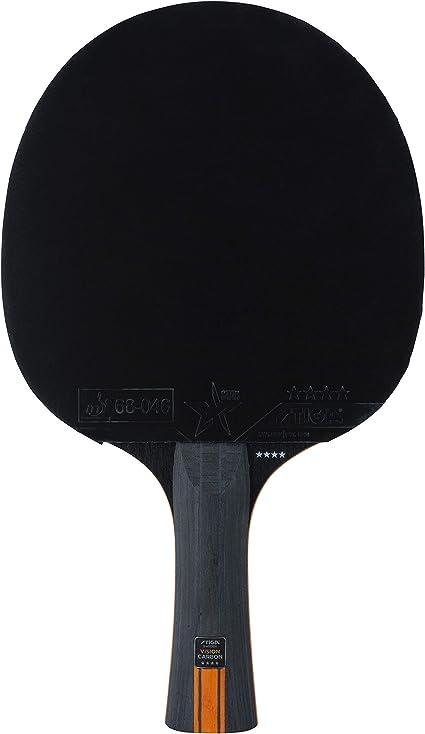 STIGA Royal Five Star Raquette de Tennis de Table en Carbone Noir//Rouge Taille Unique