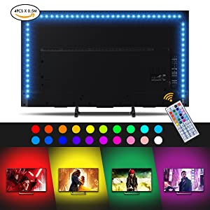 Sunix Tira LED TV Back Light TV, 2M Retroiluminación LED...