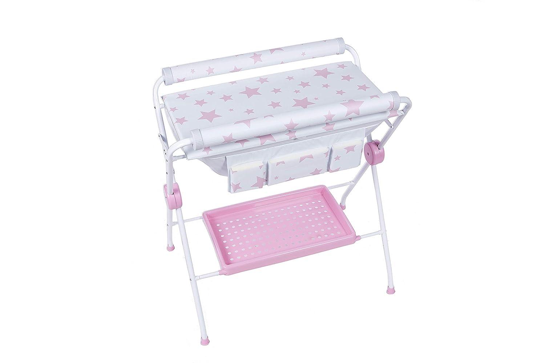 Plastimyr - Bañera flexible ESTRELLAS Rosa: Amazon.es: Bebé