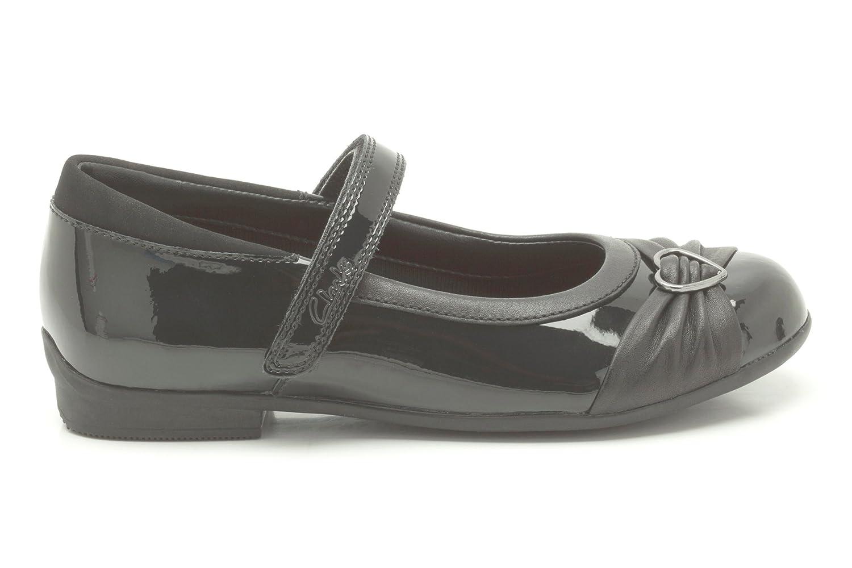Clarks Dolly Heart Infant Girls School Shoes