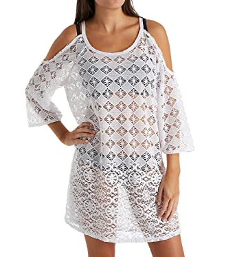 on sale online on feet at outlet Dotti Women's Wovens Tunic Swim Cover up
