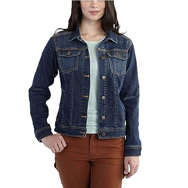 a121ba321 Carhartt Women's Brewster Denim Jacket