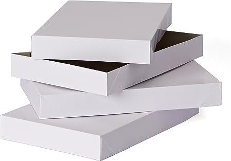 Amazon.com: American Greetings - Cajas de regalo de Navidad medianas con tapas, 14.75 pulgadas x 9.5 pulgadas (3 unidades): Kitchen & Dining