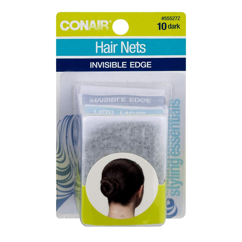 Brown 2 Pcs. Conair Hair Nets