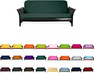 Magshion@Futon Cover Slipcover (Hunter, Queen (60x80 in.))