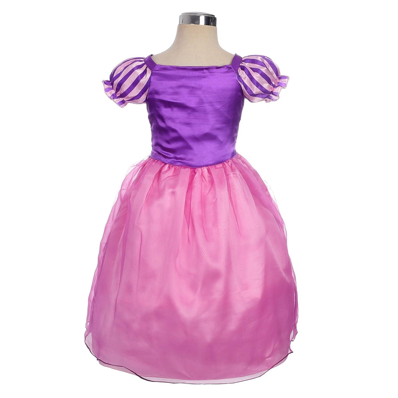 Amazon.com: Dressy Daisy Girls\' Princess Rapunzel Dress up Fairy ...