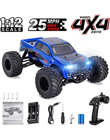 Distianert 1:12 Scale 4WD RTR Rock Crawler Electric RC Car with 2.4GHz Radio
