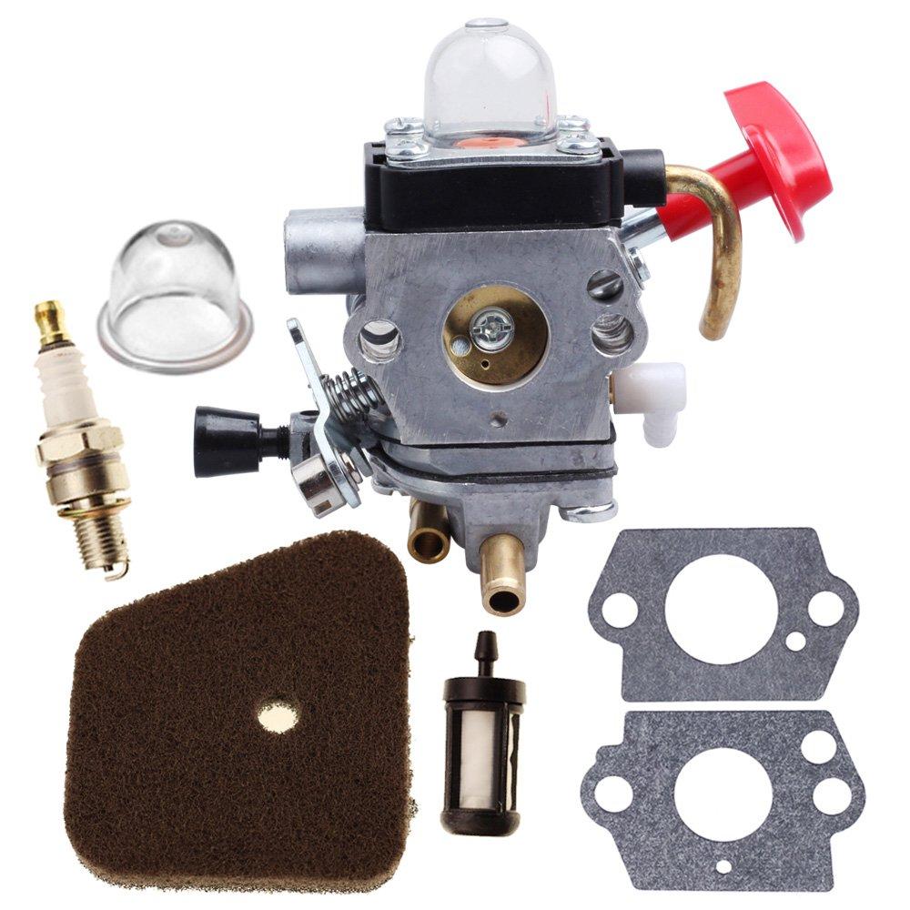 HIPA carburador con cebador, Kit para Recortadora STIHL FS87 ...