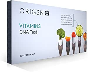 ORIG3N Genetic Home Mini DNA Test Kit, Vitamins