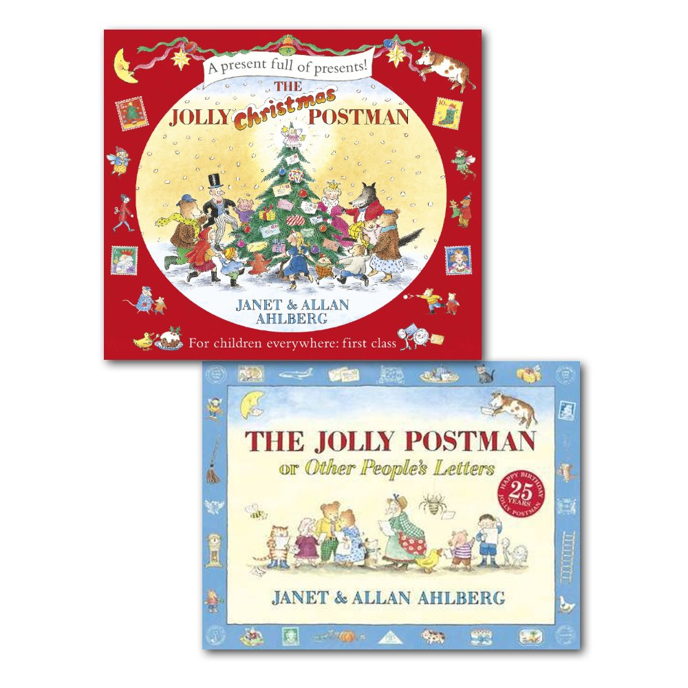 The Jolly Postman Collection 2 Books Children Christmas Gift Set By ...