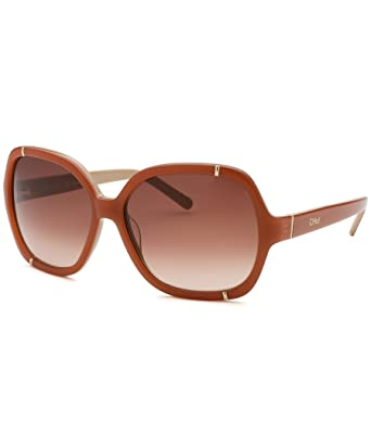 137b2925dbd Sunglasses CHLOE CE 619 S 749 PEACH  Amazon.co.uk  Clothing