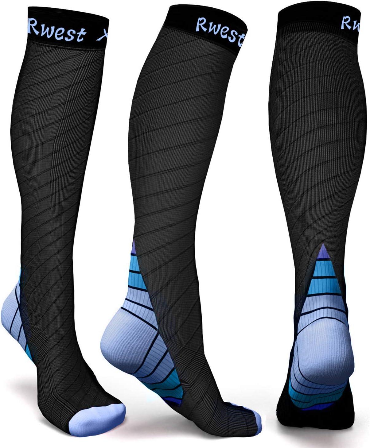 CEP Femme Chaussettes de récupération Noir Sport Running Respirant