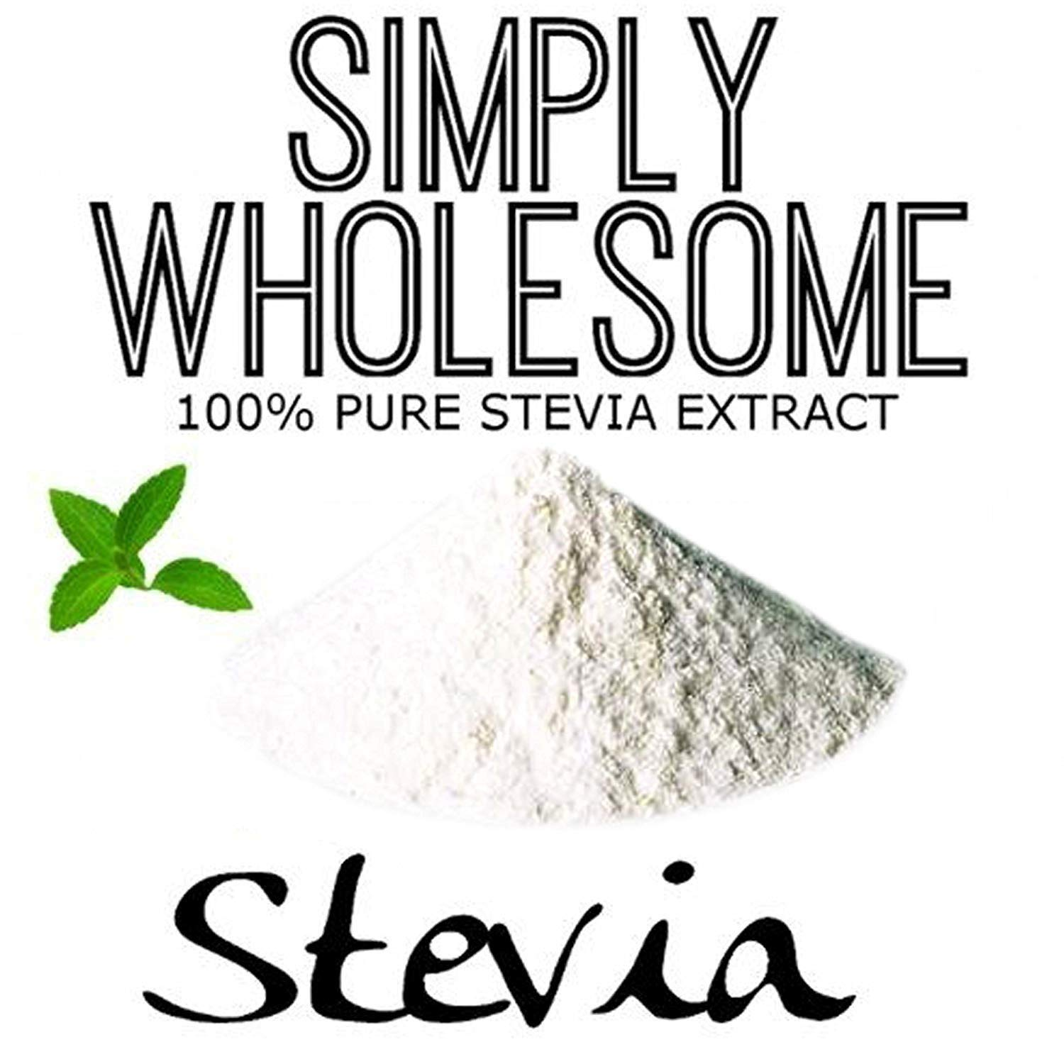 Pure Stevia Powder Extract Sweetener - Zero Calorie Sugar Free Substitute Alternatives - No Artificial Ingredients (2,250 Servings)