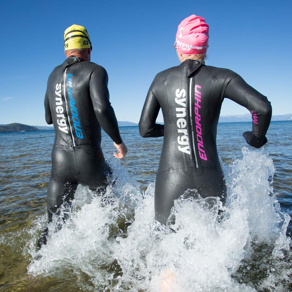 Synergy Endorphin Men's Full Sleeve Triathlon Wetsuit (M3) by Synergy (Image #8)