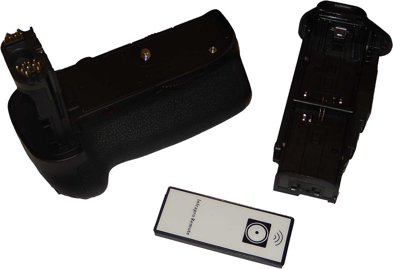 vhbw Empuñadura de batería reemplaza Canon BG-E11 para cámaras ...