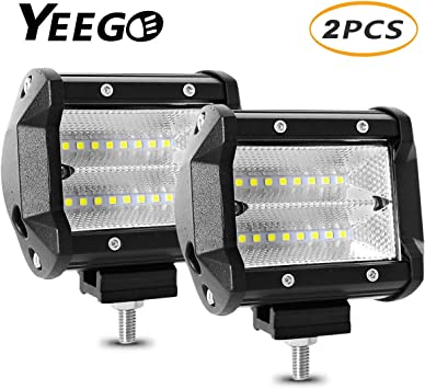 48W Spot Cree 16 LED Light Work Bar Lamp Driving Fog Offroad SUV Car Boat Truck