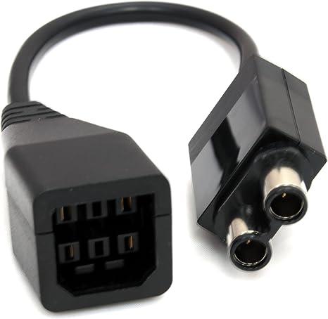 Adaptador de Fuente de alimentación convertidor Cable de Transferencia para Microsoft XBOX 360 a Xbox One: Amazon.es: Electrónica