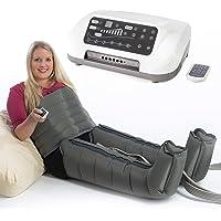 VEIN ANGEL 6 PREMIUM Appareil de massage ventre & jambes :: 6 coussins d'air / jambe & 6 programmes pour pressomassage intensif :: incl. télécommande, top service client & qualité