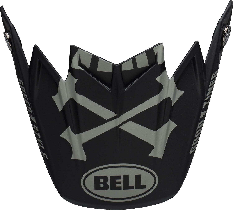 Bell Moto-9 Flex Visor Hound Gloss Green//White//Black