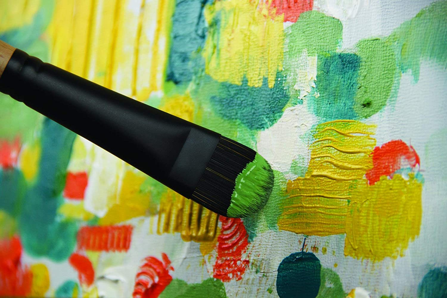 Brushes for Acrylic /& Oil Series 6400 Long Handle Filbert Princeton Catalyst Polytip Size 4