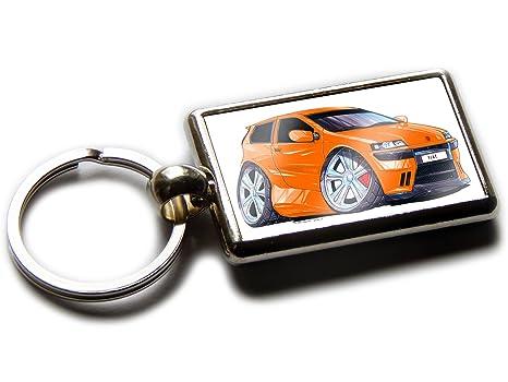 Amazon.com: Koolart - Llavero de cromo para Fiat Punto ...