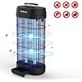 AMUFER Bug Zapper,Electronic Fly & Mosquito Killer Trap and Fly Zapper Insect Killer Catcher UV Light Lamp Fly Killer Safety for Residential Commercial Industrial Home Office