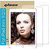 (2 Pack ) Amuoc Tempered Glass Film for Apple iPad Mini 1 2 3 (Not Mini 4/5) Screen Protector ,HD Anti Scratch, Bubble…