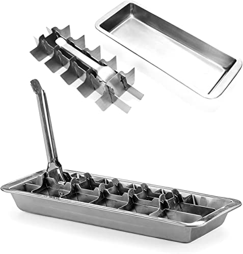 Ice_Cube_Tray_18/8_Stainless_Steel