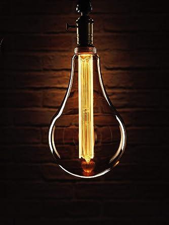 Auraglow Mysa Bombilla LED - Estilo Vintage Retro Filamento Edison Rústico, Decorativo, Ahorrador de