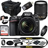 D7500 20.9MP DSLR Digital Camera with 18-140mm VR Lens - Expo Essential Accessories Bundle