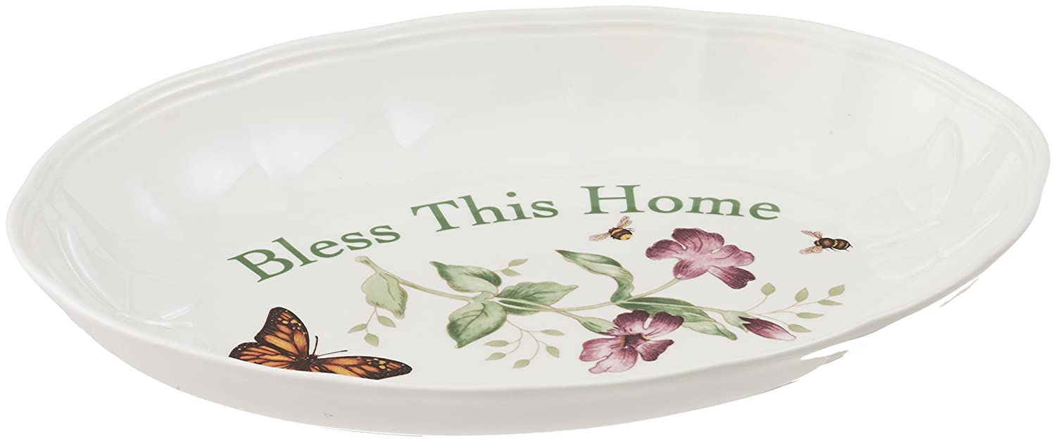Lenox Butterfly MeadowHome Is Where The Heart Is Serving Bowl 806740