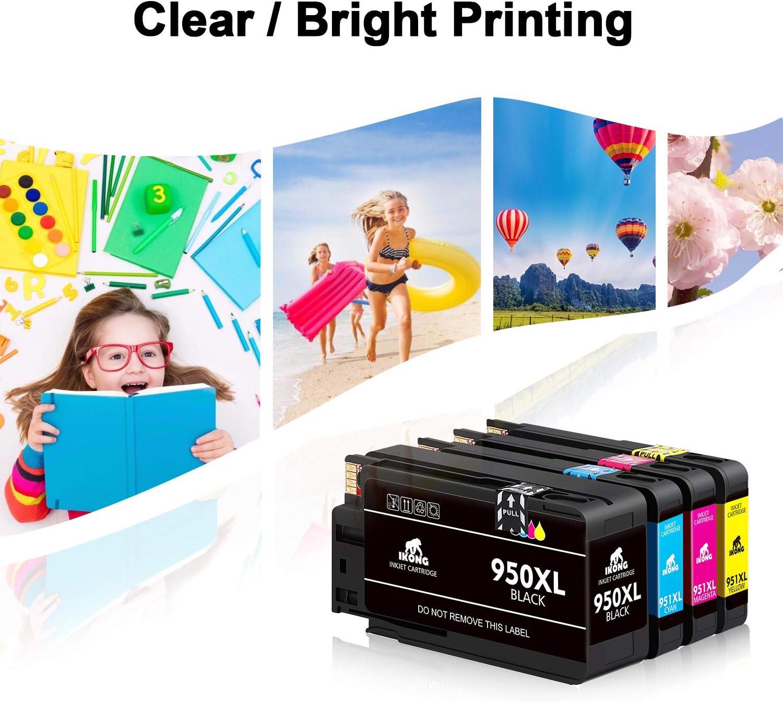 IKONG - Cartucho de tinta compatible para HP 950XL 951XL 950 951 ...
