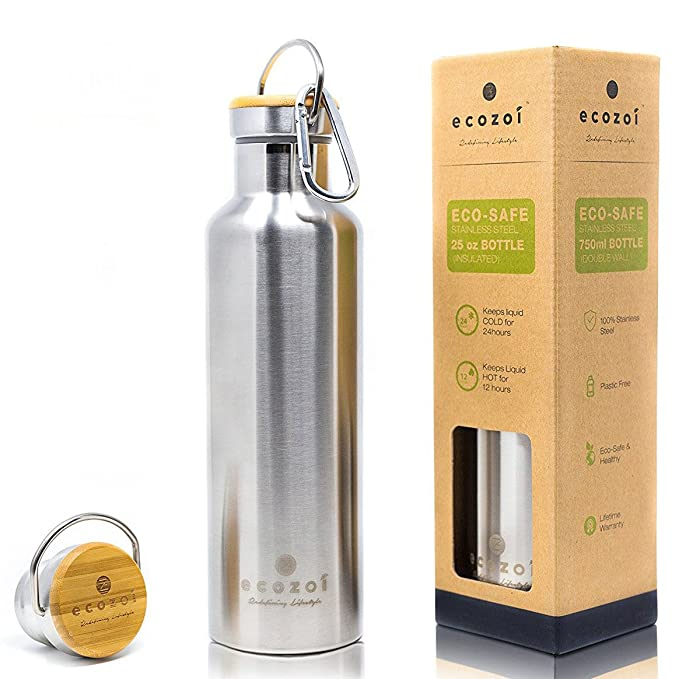Eco-friendly insulated water bottle