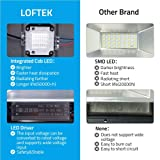 LOFTEK 50W RGB Floodlight 4 Pack, Outdoor Color