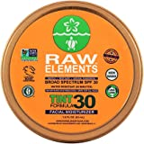 Raw Elements: Tinted Facial Moisturizer Broad Spectrum, Water Resitant SPF 30+, 1.8 oz