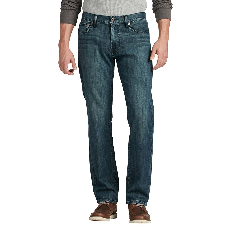 Lucky Brand Men's 221 Original Straight-Leg Jean, Halite Wash, 28W x 30L