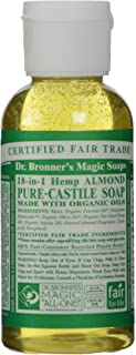 product image for Dr. Bronner, Liquid Soap, Almond, Travel Size, 2 oz