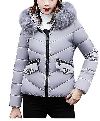 Manteau femme argent