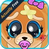Baby Pet Vet – Animal Doctor Dog, Cat, Panda, Elephant, Pig, Monkey & Zoo Hospital Surgery Boy and Girl Kids FREE Game