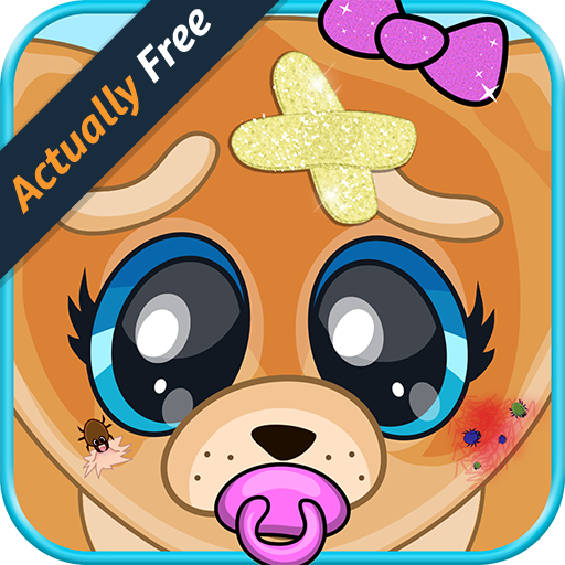 Baby Pet Vet – Animal Doctor Dog, Cat, Panda, Elephant, Pig, Monkey & Zoo Hospital Surgery Boy and Girl Kids FREE Game